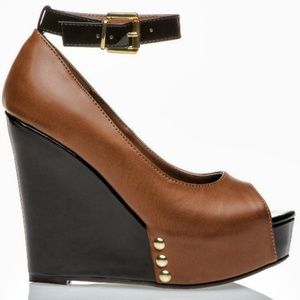 SHOEDAZZLE MULBERRY WEDGES